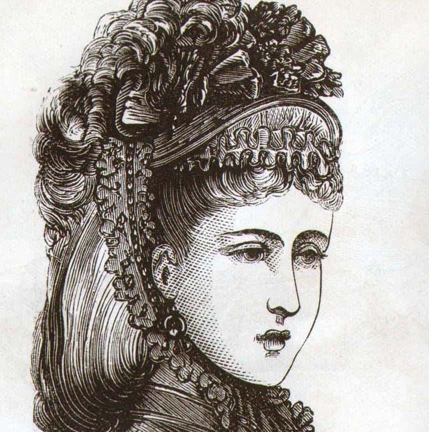 ladies victorian hats - photo #35