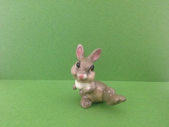 Thumper Rabbit from Disney Bambi Miniature Figurine HAGEN RENAKER