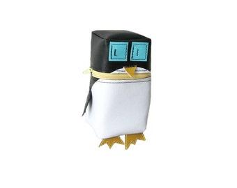 Penguin Robot Pouch