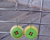Citrus Button Earrings