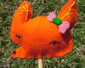 Sly Fox Stick Puppet
