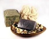 Soap - ZEN GREEN TEA handmade with Ginger, Jasmine Essential Oils