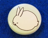 Sleeping Bunny Badge