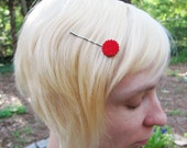 Tiny Felt Cookie Hairpins