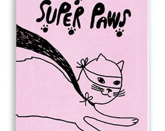 Super Paws Zine