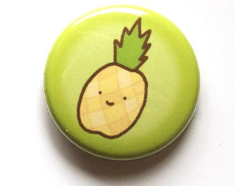 Pineapple Smile Button