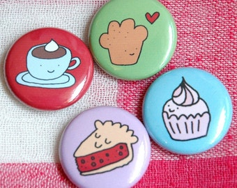 Sweets Button Set from Sweetie Pie Press
