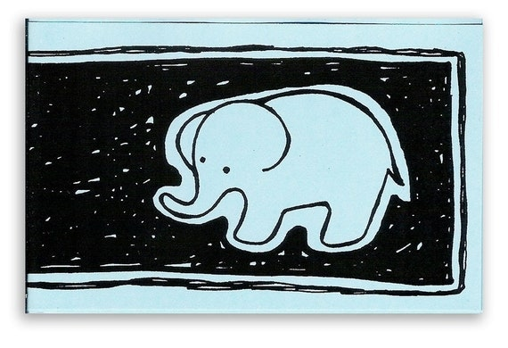 Story of an Elephant Mini Zine