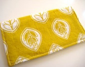 Lemon Lollipop  Wallet or Clutch with Zippered Coin Pouch
