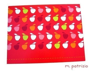 Sale - Apples blank card - note card / greeting card