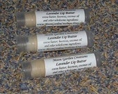 Lavender Lip Butter all natural lip balm plus Aromatherapy