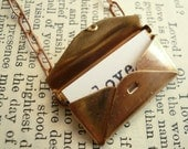 Vintage Secret Love Letter Necklace - Customizable