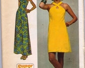 Vintage Simplicity Dress Pattern 5014