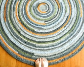 Made to Order in Your Colors - 5.5 ft Round Rug