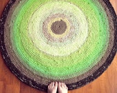 Rag Rug Custom Made for You in Your Colors - 4 feet