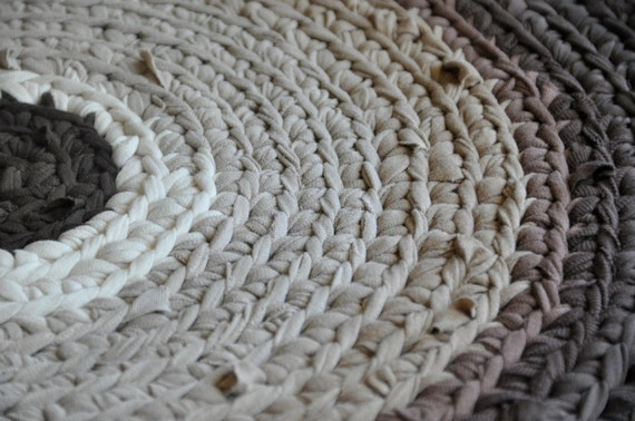 Area Rug - Shades of Brown