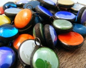 50 Stained Glass Charms