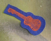 Silkscreened Ukulele Patches