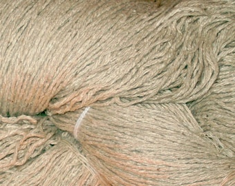 LACE Silk Lace Weight Silk Noil Undyed Yarn, Silk Yarn Dye our Own, Bombyz Silk Noil Lace Undyed Yarn