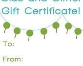Gift Certificate for sarahmadestuff