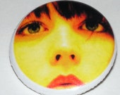 Just to be Seen. Photo Button Badge