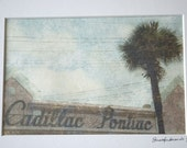 Southern Deco, Cadillac Pontiac print