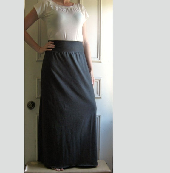 womens skirt maxi length by ellainaboutique on etsy