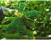 Dragonfly pin- Green