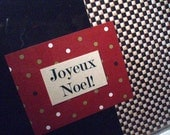 Joyeux Noel - Christmas Greeting Card