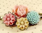 Flower Hair Pins : Pocket Full of Posies