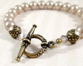 Pearl Bracelet : Vintage Nouveau - Choose Your Color