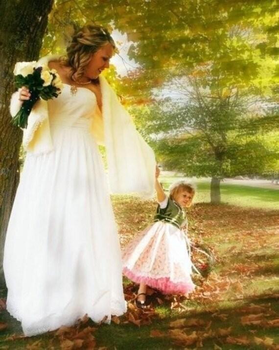 Custom Eyelet Winsome Wedding Dress Deposit
