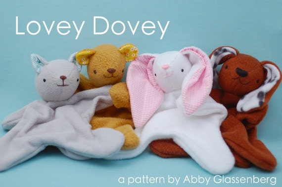 Lovey Dovey Softie - PDF Sewing Pattern