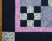 Blueberry Fields Baby Quilt