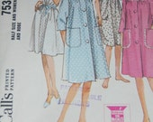 1964 Vintage Nightgown and Robe Pattern