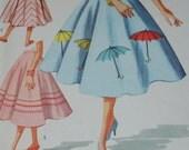 1956 Circle Skirt Pattern
