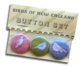 Bird Button Set