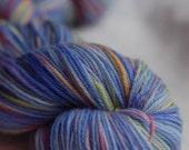 Wildflowers - Handpainted Yarn (Sock)