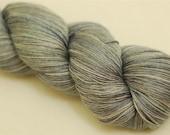 Limited edition merino silk laceweight yarn - Oyster Shell 2