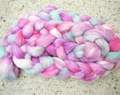 Optim (Silky Wool) Combed Top - Wild Flowers