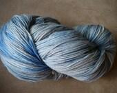 Handpainted Yarn (Sock) - Moody Blues