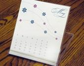 2008 melissahead desk calendar