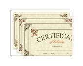 Certificates of Greatness - Set of 4