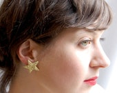 Giant Dwarf // Twinkle Earrings // Gold