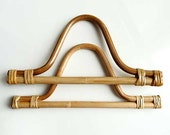 Bamboo Bag Handles - Bell-Shaped
