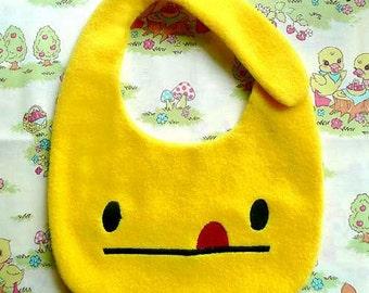 Baby Bibs, Dribble Bib, Bandana Bib, Toddler Bib, Cute Baby Clothes, Baby Shower Gift, Newborn Gift, YELLOW Bib, Cheeky Baby