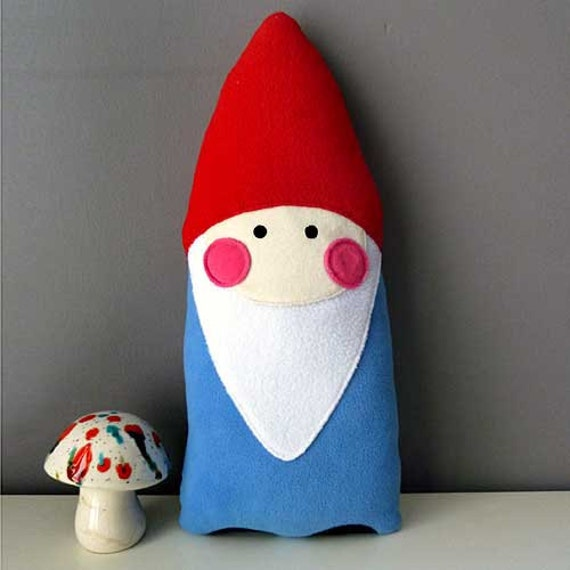 Plush Toy - The Bashful Gnome Cushion