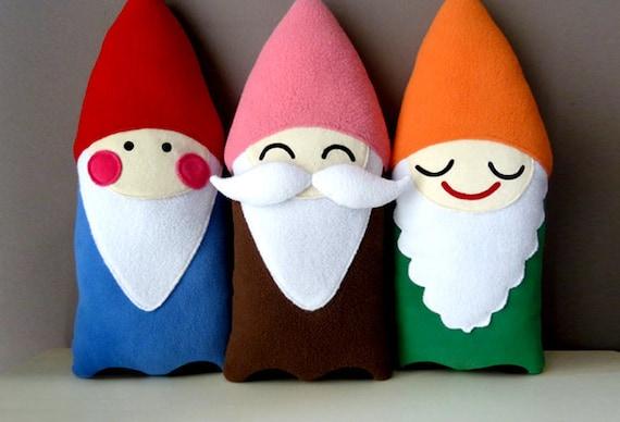 Plush Cushions - BFF Gnomes Plush Cushions (Set Of 3)