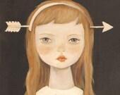 Arrow Head Print 8x10