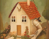 The White Rabbit's House Print 8x10 by Emily Winfield Martin